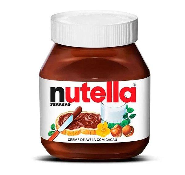 Creme de Avelã Nutella 650g Ferrero Rizzo Confeitaria
