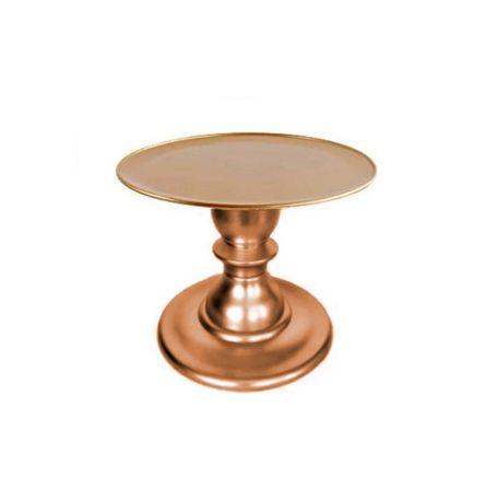 Boleira Rose Gold Linha Mosaico Premium Kit 135 220 Só Boleiras Rizzo Confeitaria