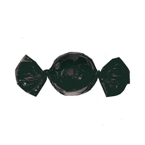 Embalagem Trufa - 15x16cm - Preto - 100 unidades - Cromus Páscoa 2020 - Rizzo Confeitaria