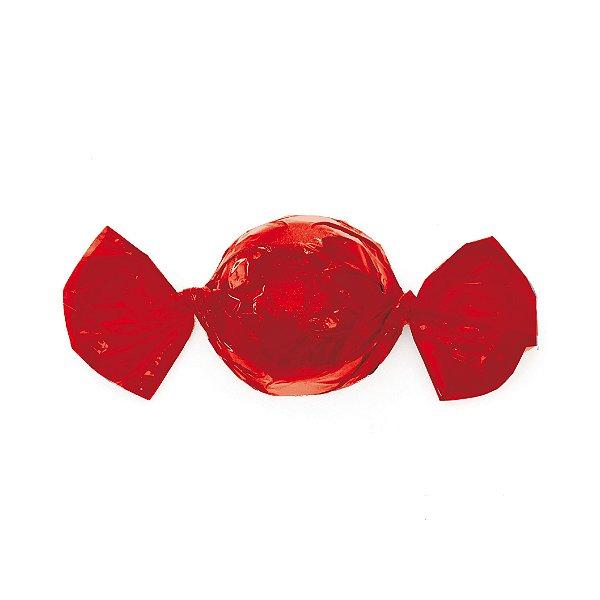 Embalagem Trufa 20x18cm - Liso Vermelho - 100 unidades - Cromus - Rizzo Confeitaria