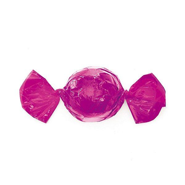 Embalagem Trufa 20x18cm - Liso Pink - 100 unidades - Cromus - Rizzo Confeitaria