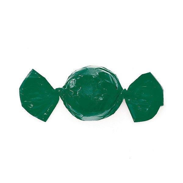 Embalagem Trufa 20x18cm - Liso Verde - 100 unidades - Cromus - Rizzo Confeitaria