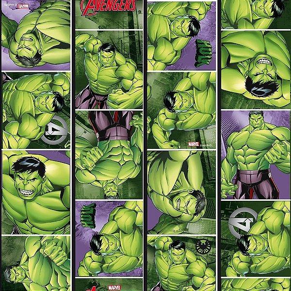 Folha para Embalar Ovos de Páscoa Hulk 69x89cm - 05 unidades - Páscoa Hulk - Rizzo Confeitaria