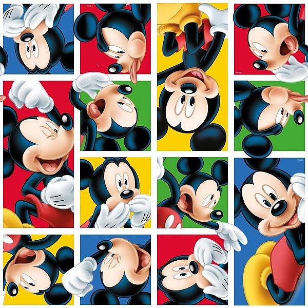 Folha para Embalar Ovos de Páscoa Mickey Mania 69x89cm - 05 unidades - Cromus Páscoa - Rizzo Confeitaria