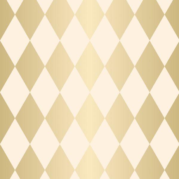 Folha para Embalar Ovos de Páscoa Pierrot Ouro Marfim 69x89cm - 05 unidades - Cromus Páscoa - Rizzo Confeitaria