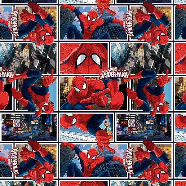 Folha para Embalar Ovos de Páscoa Spectacular Spider Man 69x89cm - 05 unidades - Cromus Páscoa - Rizzo Confeitaria