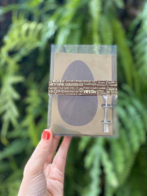 Caixa Ovo de Colher de 500g - Classic Ouro Cód 1420 - 05 unidades - Ideia Embalagens Pascoa Rizzo Confeitaria
