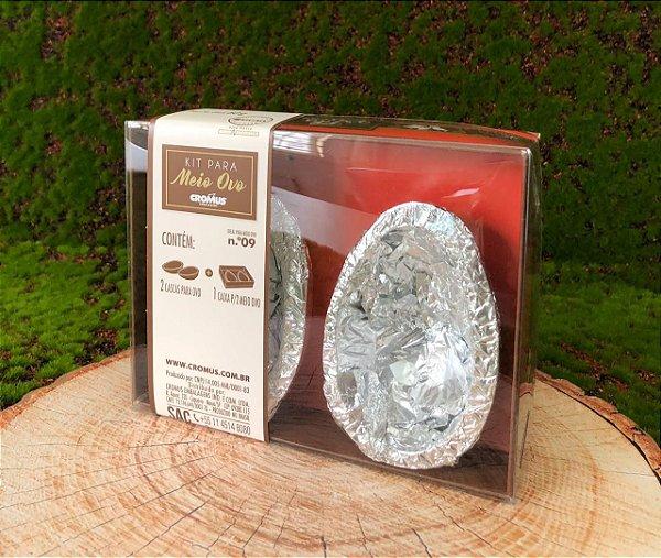 Kit Caixa Vermelha com 2 Casquinhas Chocolate 60g ao Leite Sicao - APENAS RETIRADA PESSOALMENTE - 1 unidade - Cromus Sicao Rizzo Confeitaria