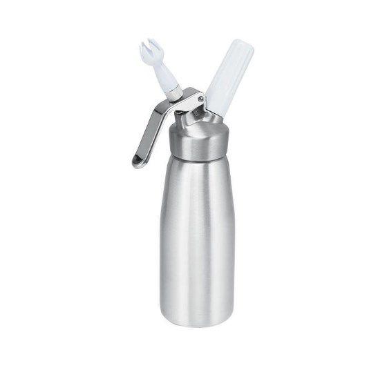 Garrafa para Creme de Chantilly s/ Gás Aluminio - 500ml - Cream Whipper Rizzo Confeitaria