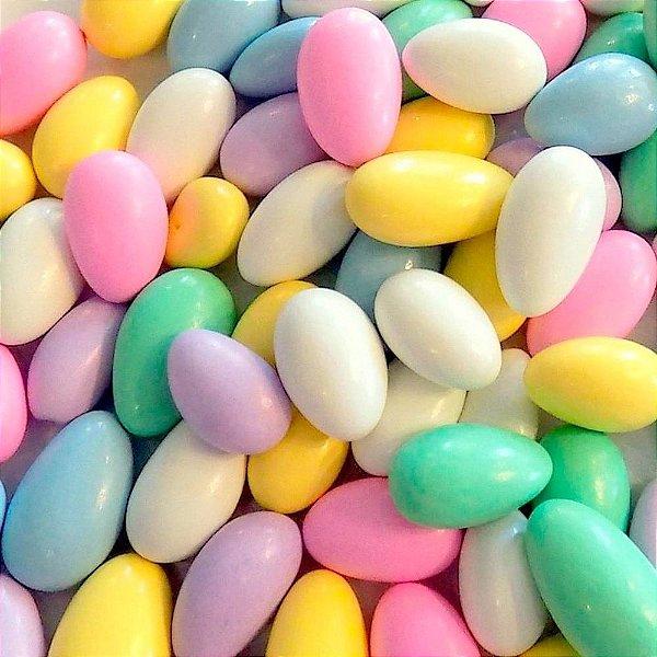 Amêndoas Confeitada Colorida 100gr - Rizzo Confeitaria