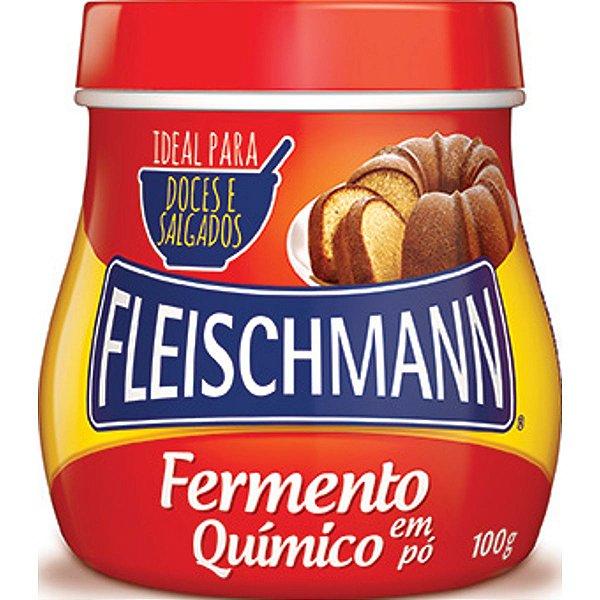 Fermento em Pó 100g - Fleischmann Rizzo Confeitaria