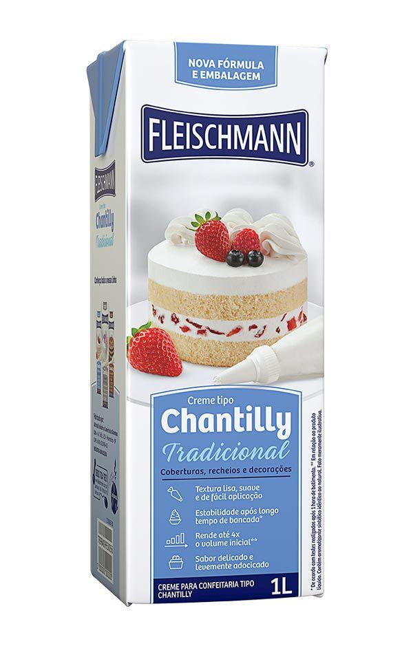 Creme de Chantilly 1 Lt - Fleischmann Rizzo Confeitaria