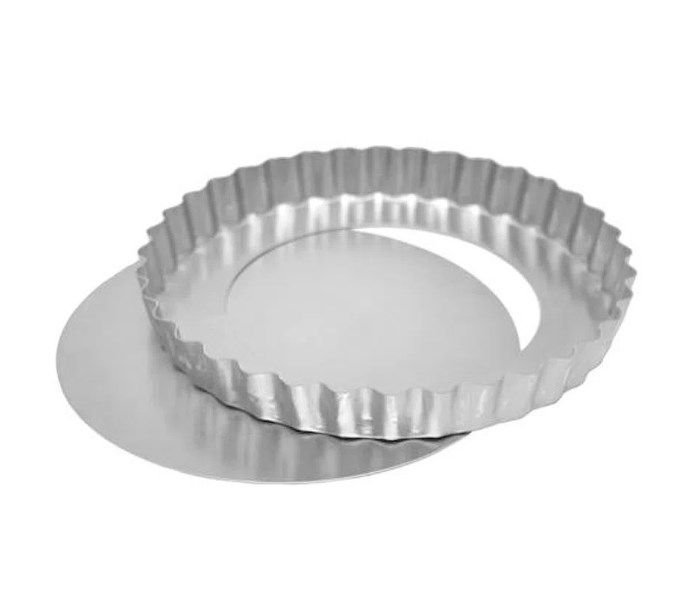 Forma Torta de Maçã Fundo Falso 21x3cm Ref 0953  01 unidade - Macedo - Rizzo Confeitaria