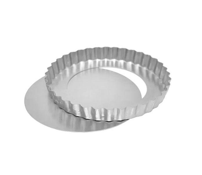 Forma Torta de Maçã Fundo Falso 15x3cm Ref 0951 01 unidade - Macedo - Rizzo Confeitaria
