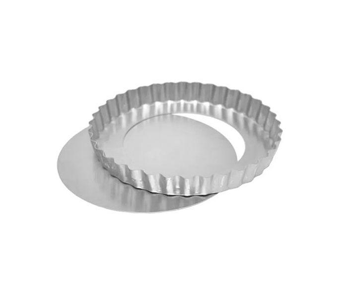 Forma Torta de Maçã Fundo Falso - 13x3cm - Ref 0950 - 01 unidade - Macedo - Rizzo Confeitaria