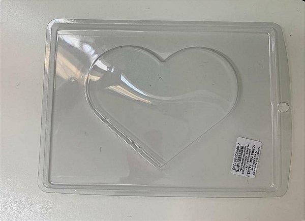 Forma de Acetato coração plano  Mod.226  Crystal Rizzo Confeitaria