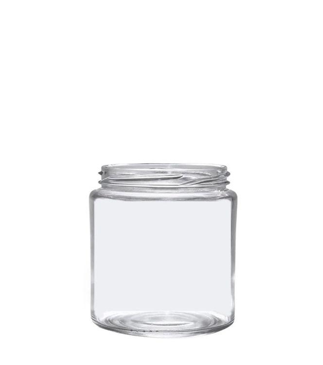 Pote de Vidro Belém 200ml - 8,5x6,5cm - 01 unidade - Rizzo Confeitaria