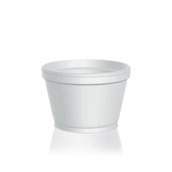 Pote de Isopor Térmico 120ml - Copobras - Rizzo Confeitaria