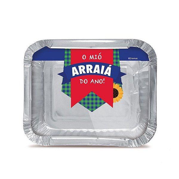 Marmitinha Arraiá M - 8,5 cm x 6,5 cm - Festa Junina - 12 unidades - Cromus - Rizzo