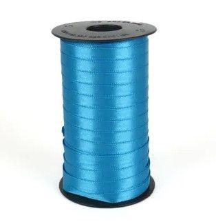 Fita de Cetim Carretel Progresso 6mm nº01 - 100m Cor 213 Azul Turquesa - 01 unidade - Rizzo Embalagens