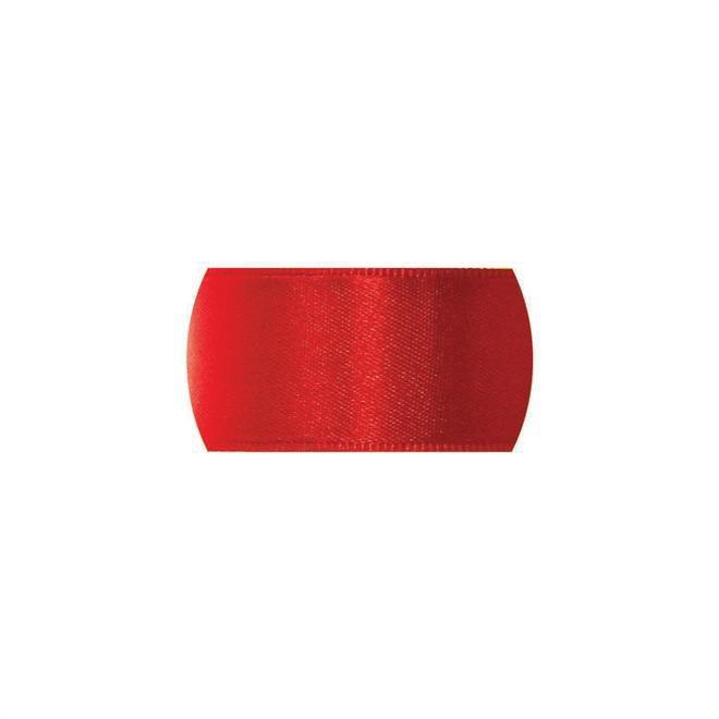 Fita de Cetim  para personalizar Progresso Crie sua Fita -  CFS005 Vermelha 22mm c/50mts  Rizzo Confeitaria