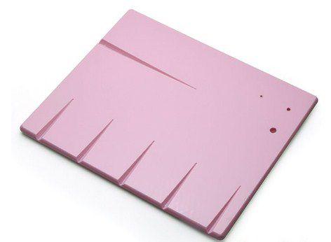 Placa para Corte - Rosa - 24x20cm - Solrac - Rizzo Confeitaria
