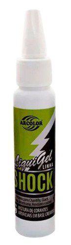 Corante Liqui Gel Shock - Verde - 30g - Arcolor - Rizzo Confeitaria