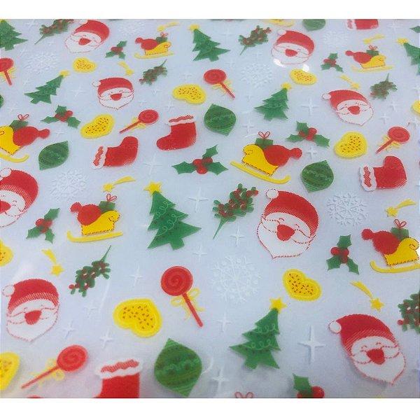 Transfer para Chocolate Natal - TRN 8044 01 - Stalden - Rizzo Confeitaria
