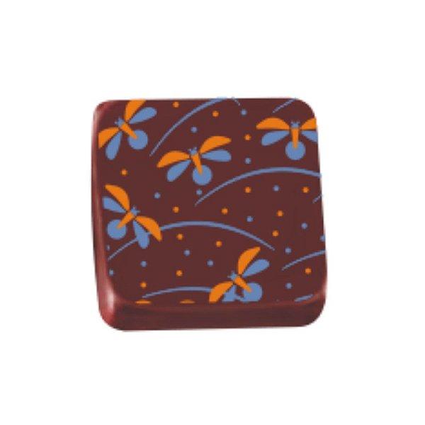Transfer para Chocolate Libelula - TRG 8061 06 - Stalden - Rizzo Confeitaria
