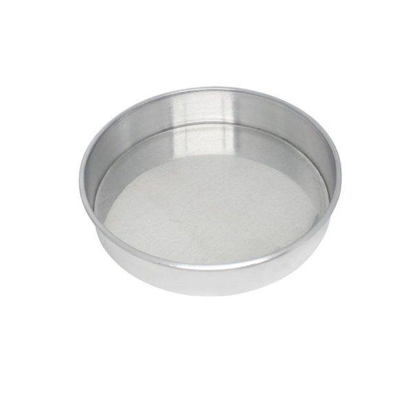 Forma Redonda Reta Fundo fixo de alumínio - 1 un - 23x10 cm - GoldPan Formas