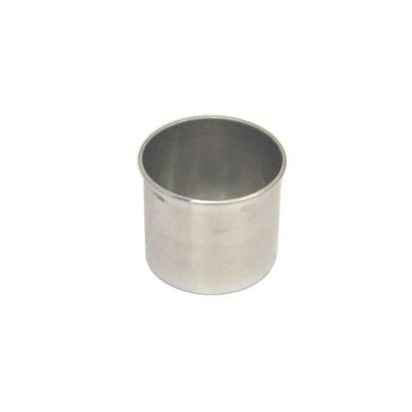 Forma Redonda Reta Fundo fixo de alumínio - 1 un - 10x10 cm - GoldPan Formas