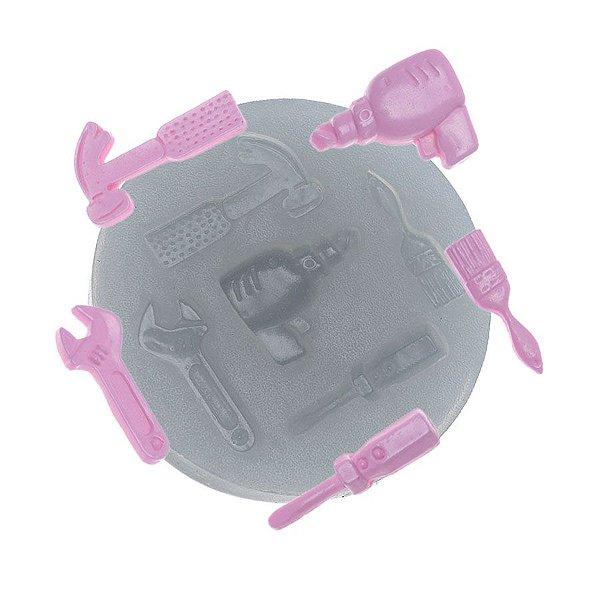 Molde de Silicone Ferramentas Ref. 168 Flexarte Rizzo Confeitaria