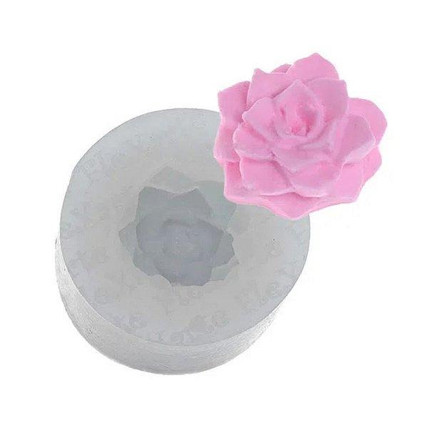 Molde de Silicone Mini Suculenta Ref. 160 Flexarte Rizzo Confeitaria