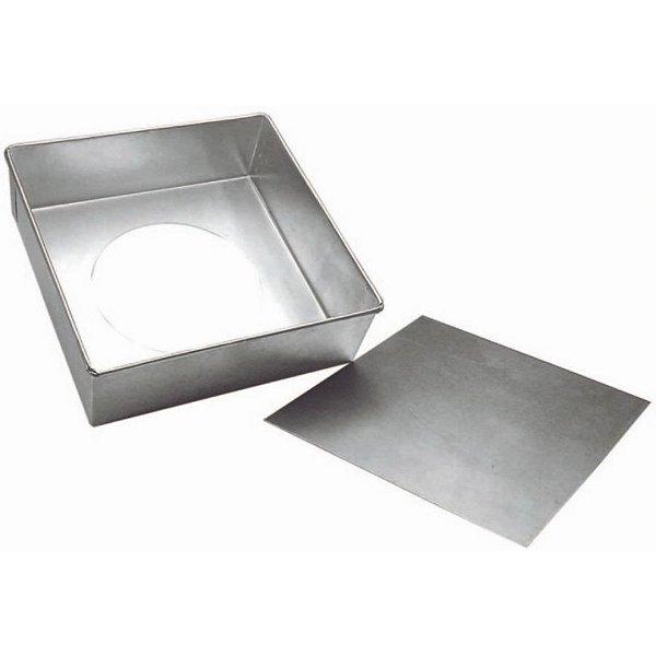 Forma Quadrada fundo falso - 35 X 10 - Doupan - Rizzo Confeitaria