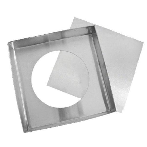 Forma Quadrada fundo falso - 25 X 10 - Doupan - Rizzo Confeitaria