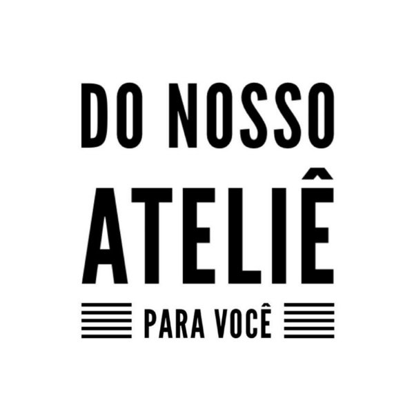 Carimbo Artesanal Do Nosso Atelie para Voce - Cod.RI-066 - Rizzo Confeitaria