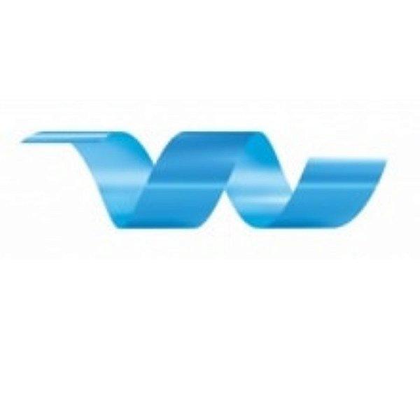 Rolo Fita Lisa Azul Claro - 30mm x 50m - EmFesta