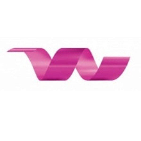 Rolo Fita Lisa Pink - 20mm x 50m - EmFesta