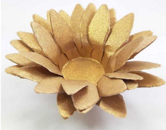 Forminha para Doces Floral Lee Colorset Bronze - 40 unidades - Decorart