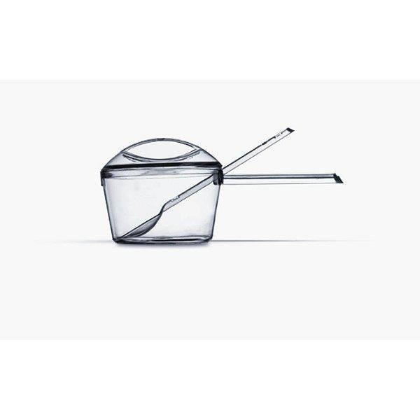 Kit Panelinha com Colher Piccolo Cristal 5 uni - Plastilânia