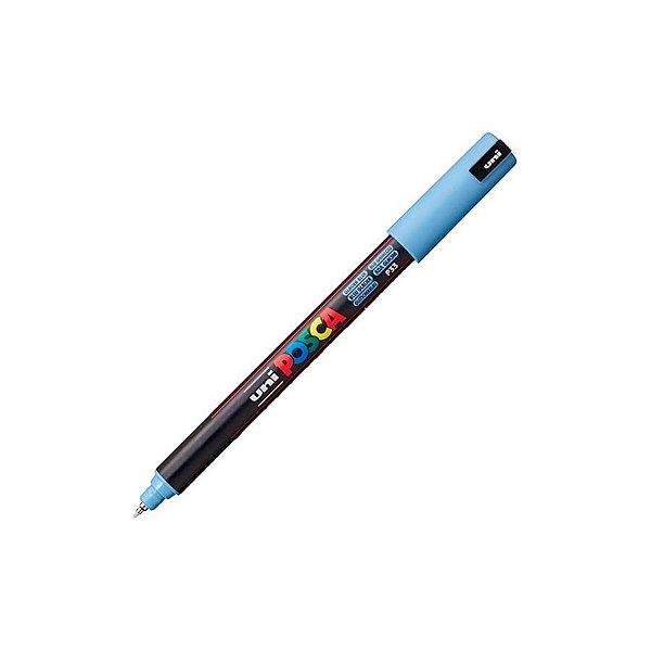 Caneta Posca PC-1MR 0,7mm Azul Glaciar - 01 unidade - Uni Posca