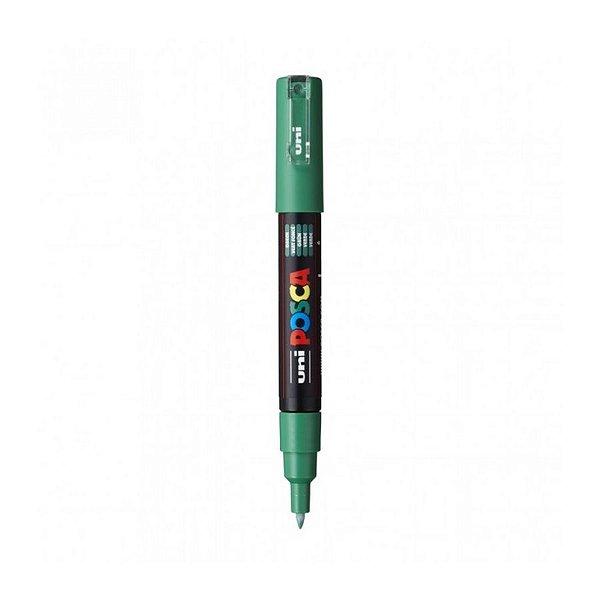 Caneta Posca PC-1M 0,7mm Verde - 01 unidade - Uni Posca