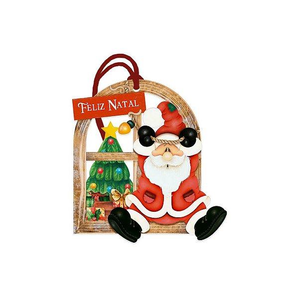 Decor Home Tag 7 Natal - Feliz Natal - DHT7N-002 - LitoArte Rizzo Confeitaria