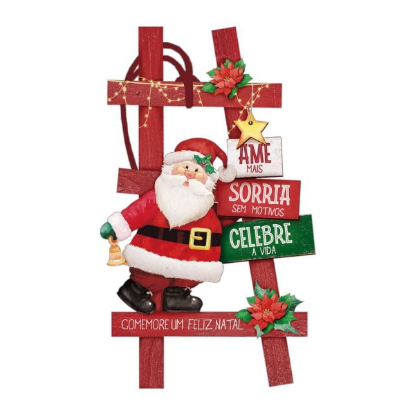 Decor Home Tag 7 Natal - Ame Mais - DHT7N-003 - LitoArte Rizzo Confeitaria