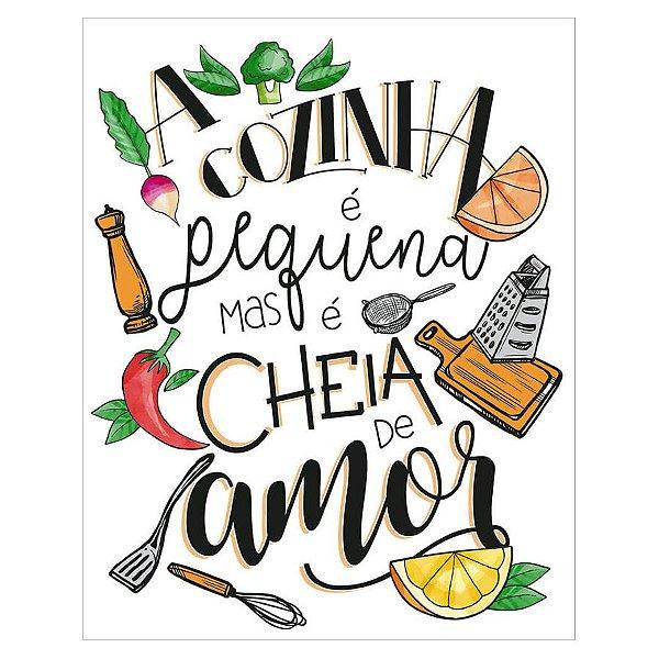 Placa Decorativa em MDF -Cozinha - DHPM-499 - LitoArte Rizzo Confeitaria