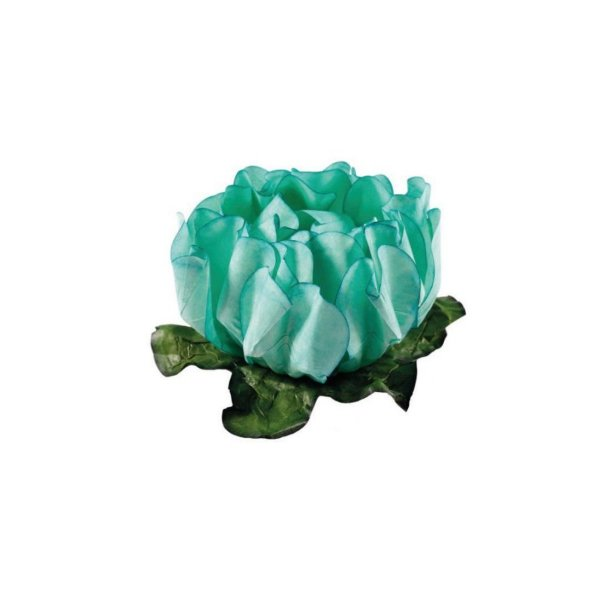 Forminha para Doces Finos - Rosa Maior Verde Água - 40 unidades - Decora Doces - Rizzo