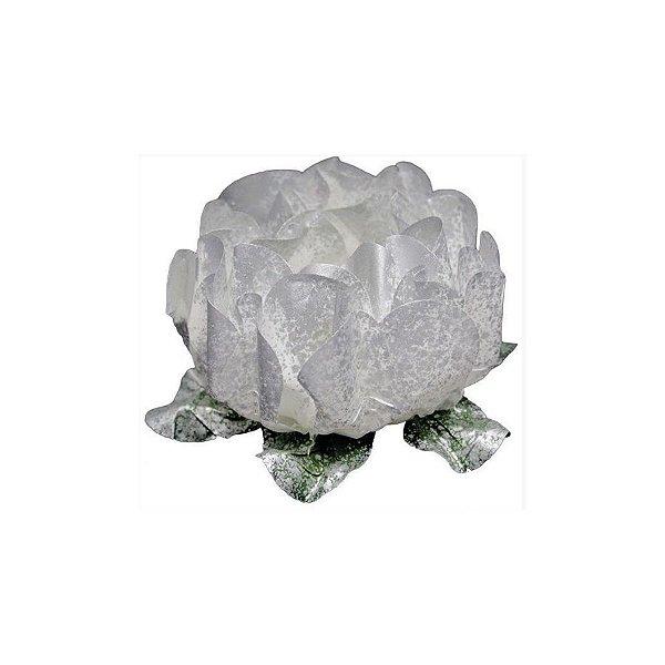 Forminha para Doces Finos - Rosa Maior Prata - 40 unidades - Decora Doces - Rizzo
