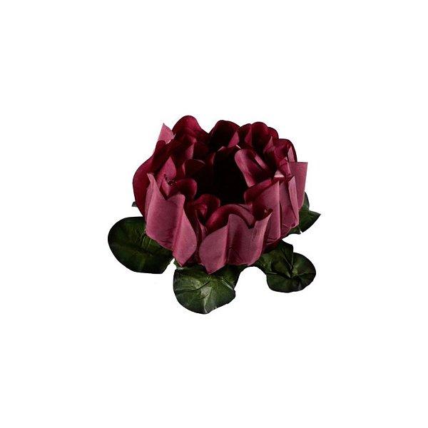 Forminha para Doces Finos - Rosa Maior Marsala 40 unidades - Decora Doces - Rizzo
