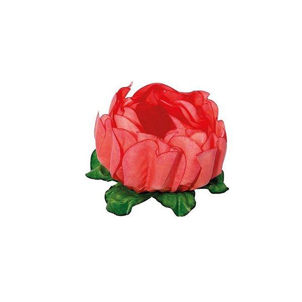 Forminha para Doces Finos - Rosa Maior Coral - 40 unidades - Decora Doces - Rizzo