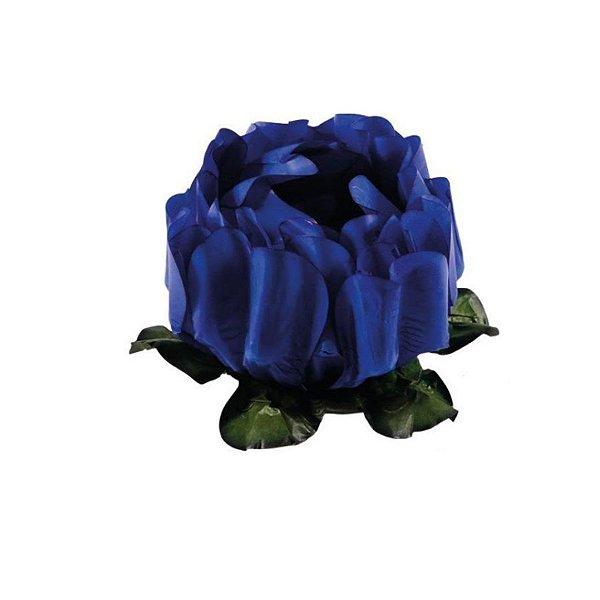 Forminha para Doces Finos - Rosa Maior Azul Royal - 40 unidades - Decora Doces - Rizzo